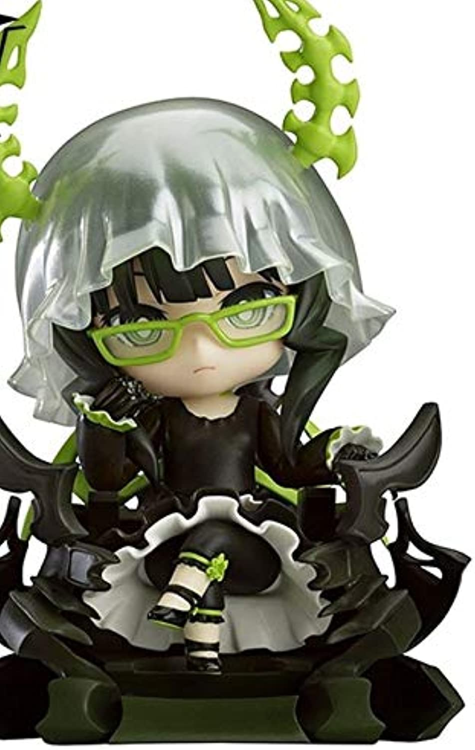 Allegro Huyer Good Smile Cute 4  Black Rock Shooter gold Saw Action Figure Red Devil Figure Model Exchangeable Parts Toy (292)