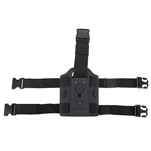 SGOYH Tactical Leggings Gerät Holster Drop Leg Plattform Gurt Tasche Strap Bag Pouch Pack