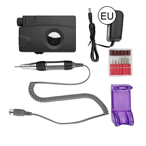 PXN Rechargeable Mini électrique Nail Drill Portable sans Fil Nail Polisher Manucure Set, EU Plug