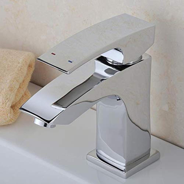 Wasserhahn Waschtischarmatur Kupfer Einseitiger Waschbecken-Warm- Und Kaltwassermischer