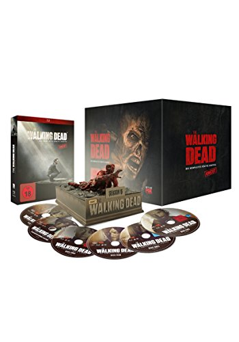 The Walking Dead - Staffel 5 (Uncut Limited Asphalt Walker Edition) [Blu-ray]