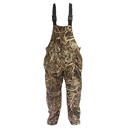 Wildfowler Waterproof Bibs, Large, Wildgrass