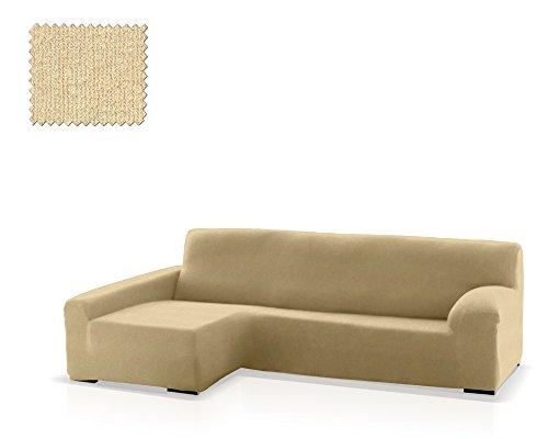 JM Textil Housse de canapé d'angle Eneasis, Angle côté Gauche, Taille Standard (220-280 cm), Couleur 00 (Couleurs variées Disponibles)
