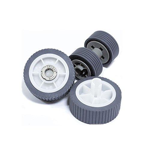 YANZEO Scanner Pick Roller Kit für Fujitsu ScanSnap iX500, iX500 Deluxe Roller Parts No :PA03656-0001 PA03656-0002 PA03656-E958
