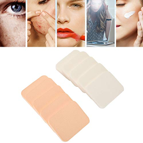 Makeup Puff, Makeup Powder Puff, Portable Sponge Pad Cushion Wet Dry Face Cosmetic Tool 10pcs