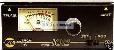 ZETAGI 102 Mini-Rosmetro/Wattmetro CB