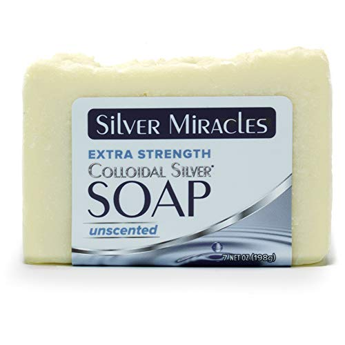 Silver Miracles Extra Strength Colloidal Silver Soap