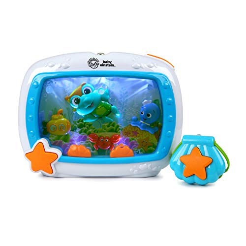 Baby Einstein Sea Dreams Soother Musical Crib Toy and Sound Machine, Newborns Plus
