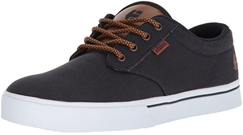 Etnies Men's Jameson 2 ECO Skate Shoe, Navy/tan/White, 10.5 Medium US
