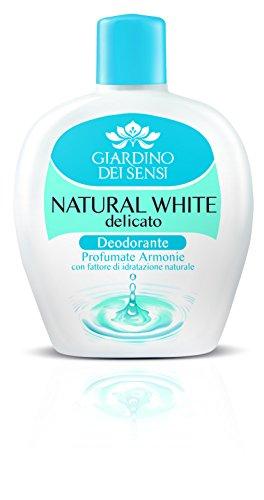 deodorante natural white delicato squeeze 100 ml