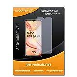 SWIDO Schutzfolie für Oppo Find X2 Lite [2 Stück] Anti-Reflex MATT Entspiegelnd, Hoher Festigkeitgrad, Schutz vor Kratzer/Folie, Bildschirmschutz, Bildschirmschutzfolie, Panzerglas-Folie