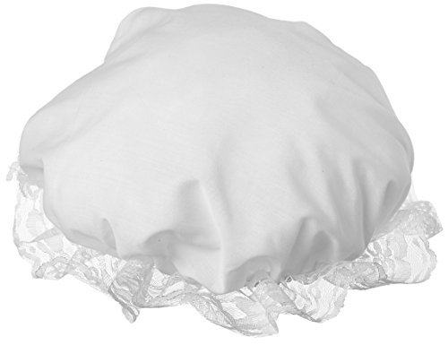 Colonial Mob/Mop Hat-Halloween Costume Accessory-White, one size