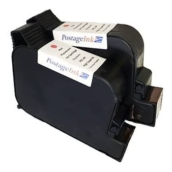 45 2-Pack Works with: PostBase Models 20 High Capacity Ink /& Toner Spot Remanufactured Inkjet Replacement for Francotyp-Postalia PIC40 not for PB Mini 65 /& 85 Red 30
