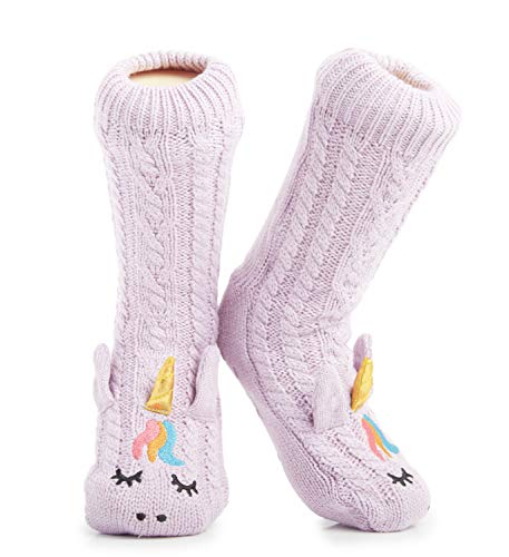 Unicorn Slipper Socks Women/ Girls