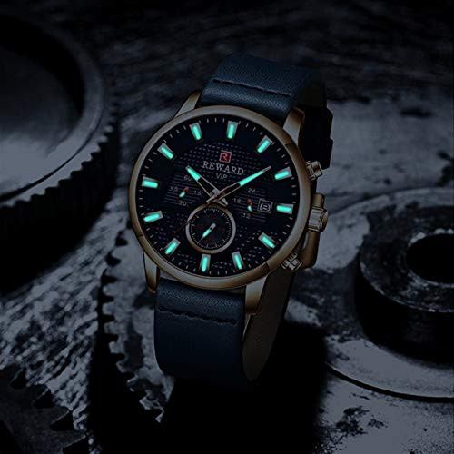 Flatware Fashion Watch Men Luxury Brand Raincoat Chronograph Men's...