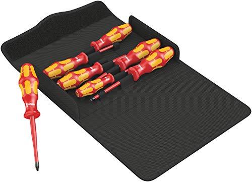 Wera 05136013001 Kraftform 100 iS/7 Set 1 Schraubendrehersatz, 7-teilig