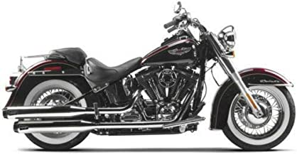 RPM Two Brothers Dual SO Exhaust Mufflers for Chrome Harley Softail Deluxe/Slim 15-17
