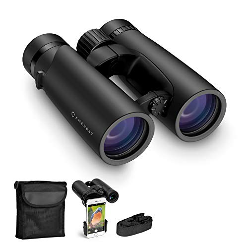 Amcrest 10x42 Roof Prism Binoculars for Adults, HD...