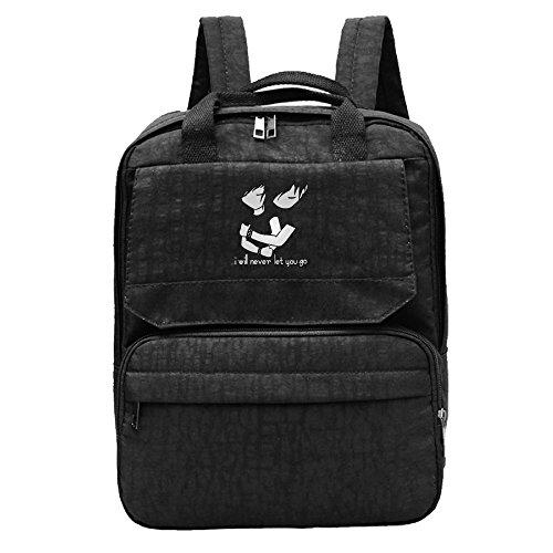 Etmas Women Dan and Phil Girls Oxford Students Backpack Rucksack School Bag Travel Outdoor Backpack