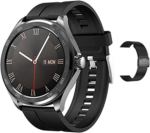 F10 Reloj Inteligente Hombres s Ritmo Cardíaco Y Presión Arterial Monitor De Sueño Multi-Deportes Bluetooth 5 0 IP67 Impermeable Fitness Deportes Watch-B