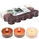 Smart-Planet® Ambient - Velas aromáticas (aroma de vainilla, 30 unidades, aroma a vainilla)