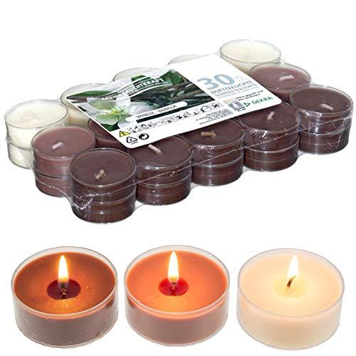 candele profumate 30 pezzi Smart Planet® Candele Ambiente