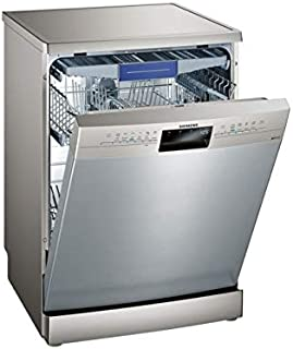 Siemens 6 Programmes Free Standing Dishwasher, Silver - SN236I10NM, 1 Year Warranty