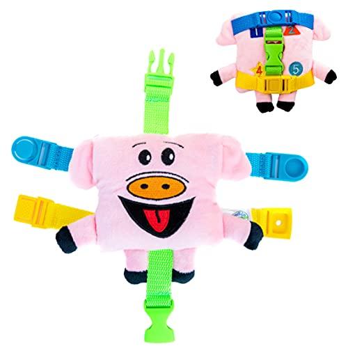 Buckle Toys - Mini Size Biggy Pig -...