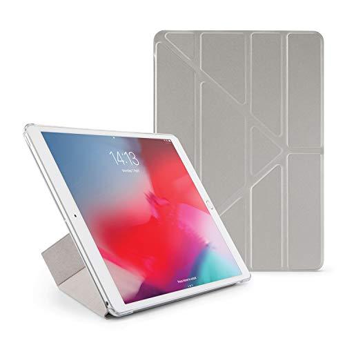 Pipetto Funda para iPad Mini – Origami Smart Cover iPad Pro 10.5 iPad Pro 10.5-Inch Silver & Clear