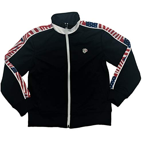 Southpole Full-Zip Athletic Track Boys Jacket (M)