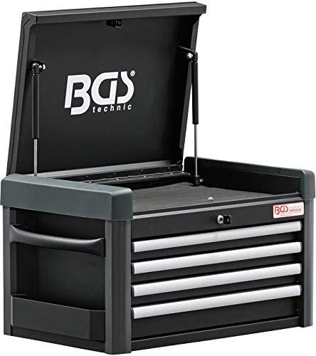 BGS 4112 Carrello da Officina Professionale con 4 cassetti Vuoto
