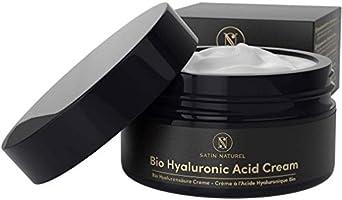 Crema viso antirughe biologico all'acido ialuronico II Satin Naturel