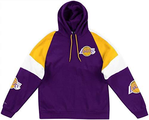 Mitchell & Ness Los Angeles Lakers NBA Instant Replay Hoody Hoodie Sweater Herren Mens