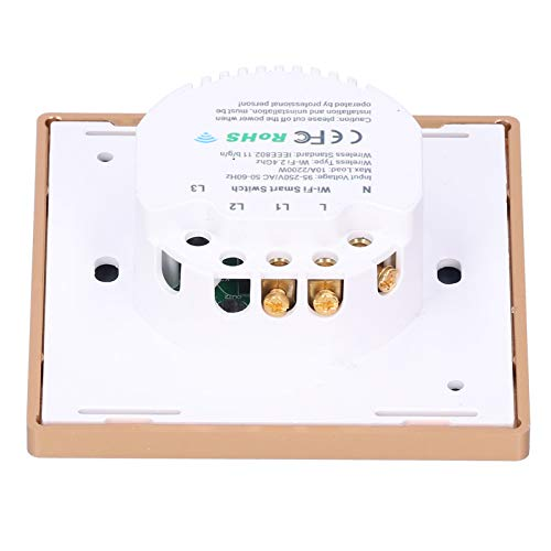 Interruptor de luz inteligente, interruptor inteligente Interruptor de luz táctil Controlador de interruptor Interruptor de luz de vida inteligente Interruptor inteligente inalámbrico para