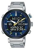 Pulsar Reloj analogico-Digital para Hombre de Cuarzo con Correa en Acero Inoxidable PZ4049X1