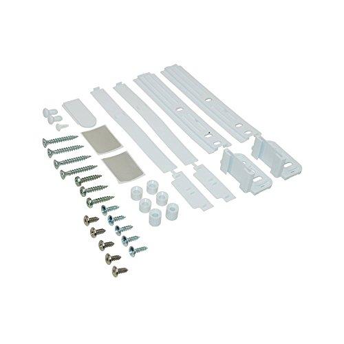 Bauknecht Whirlpool Türwechsel-Set, Schleppscharnier-Set für eintürigen Kühl- oder Gefrierschrank - Nr.: 481231028208