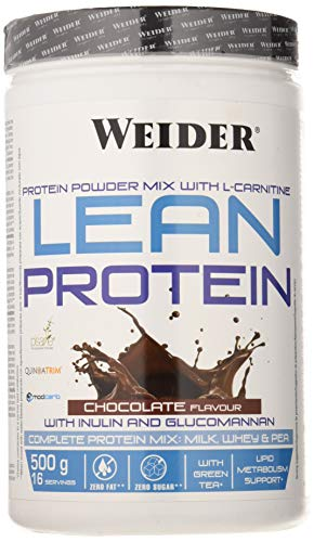 Weider Lean Protein y L Carnitina Chocolate - 500 gr