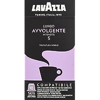 Lavazza Cápsulas de café Lungo Avvolgente - Paquete de 10