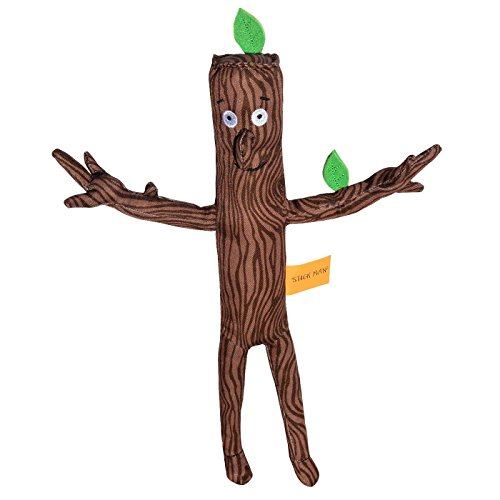 Julia Donaldson's Stick Man Plush Toy (12 Inch / 30cm) by Salveo