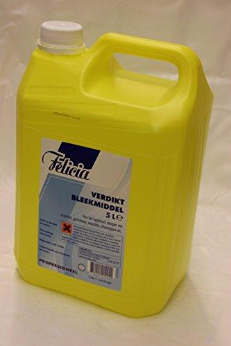 Felicia Verdikt Bleekmiddel (Bleichmittel) 5 Liter Flasche