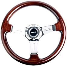 nrg wood steering wheel