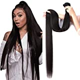 FASHOW Straight 1 Bundle 9A 100% Unprocessed Straight Hair 32 inch single Bundle Brazilian Virgin Hair Weave Human Hair Extension