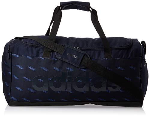 adidas Herren Lin Duffle Rucksack Sporttasche, Legink/Black/Legink, NS