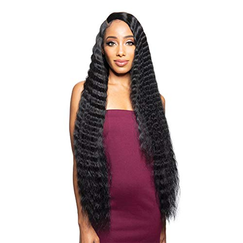 Zury Sis Beyond Synthetic Hair Lace Front Wig - BYD LACE H CRIMP 34 (2 Dark Brown)