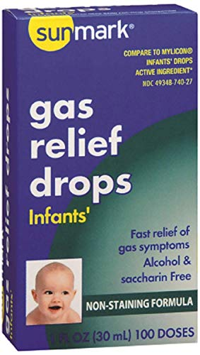 Sunmark Infants' Gas Relief Drops - 100 doses - 1 fl oz