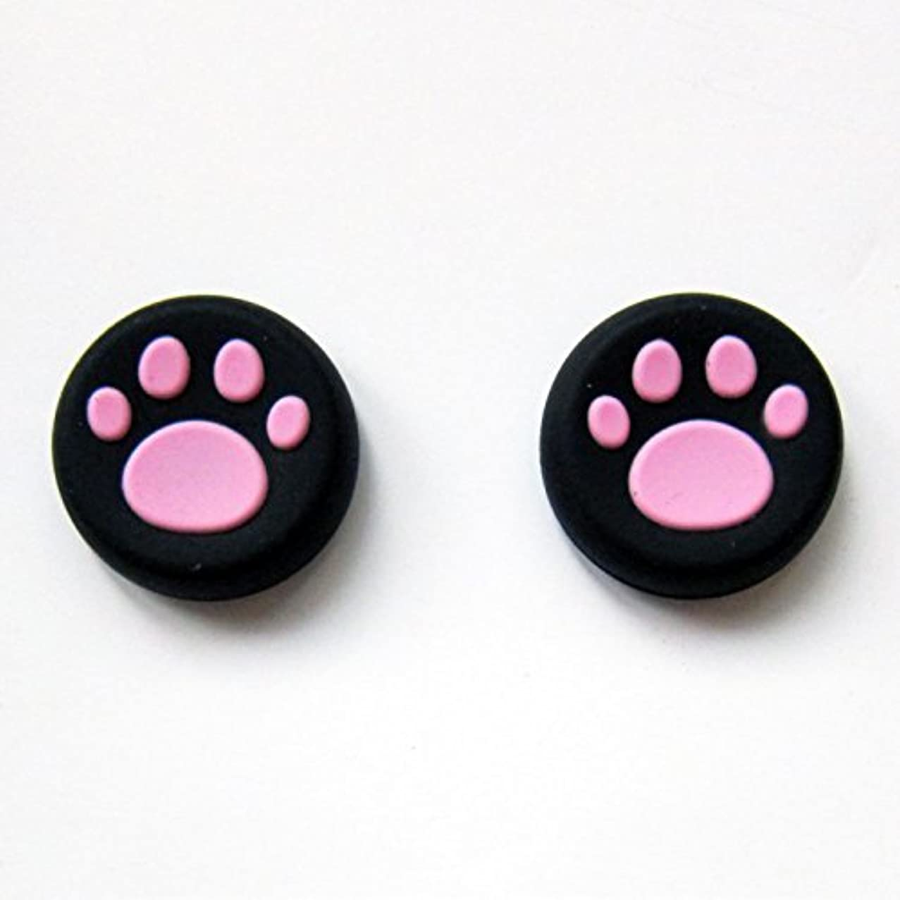 Vivi Audio? Thumb Stick Grips Cap Cover Joystick Thumbsticks Caps For PS4 XBOX ONE XBOX 360 PS3 PS2 Pink Cat Dog Paw