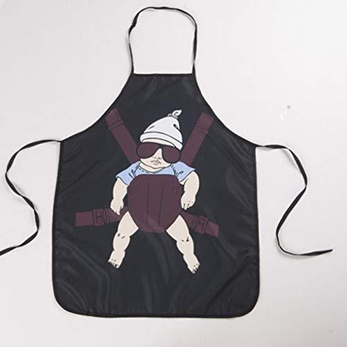 Yongse Huishoudelijke Koken BBQ Party Keuken Grappige Super Papa Mouwloos Schort