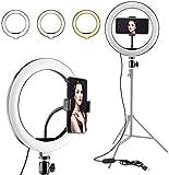 Cabriza BL-84E Portable & Adjustable Design 10 inch Big Selfie Light for Makeup