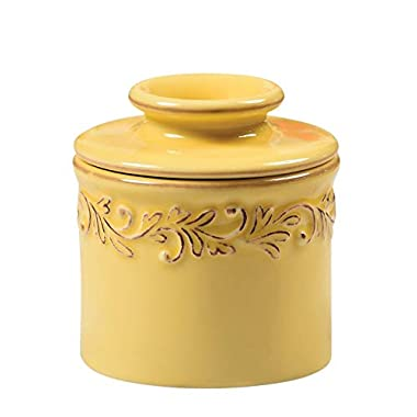 The Original Butter Bell Crock by L. Tremain, Antique Collection - Goldenrod