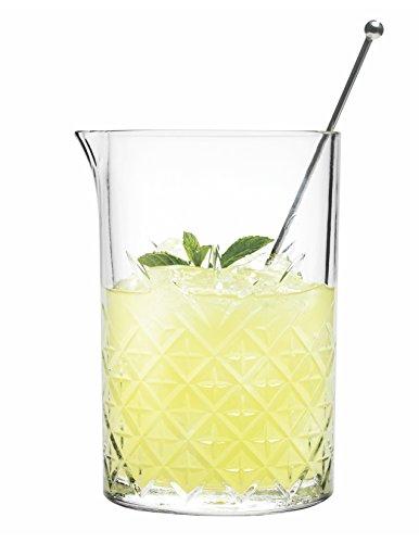 Hospitality Glass Brands 52849-006 vaso mezclador atemporal, 24.25 onzas (Paquete de 6)